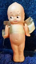"""Vintage Celluloid Kewpie Doll Strung arms 2 3/8"""" Tall ~ Ray Rohr Cosmic Arti"""
