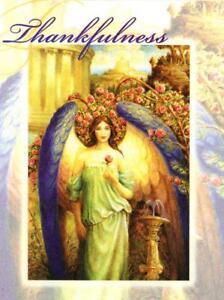 'THANKFULNESS' BY DOREEN VIRTUE, GREETING CARD, LEANIN' TREE