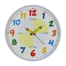 Hometime Children's Plastic Wall Clocks