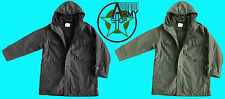 NEW BW Parka with lining black bundeswehr olive Jacket Field Size 52 54 56 58