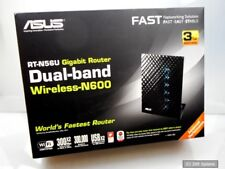 300 Mbps ASUS rt-n56u Wireless n600 Router with 4-Port Ethernet Switch, New, Boxed