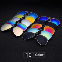 Retro Women Fashion Mirror Lens Sunglasses Unisex Vintage Men Glasses