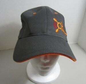 Orange Theory Cap Gray & Orange BEAT  Adjustable Unisex Size