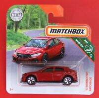 MATCHBOX 2019 ´17 HONDA CIVIC HATCHBACK  8/100   NEU&OVP