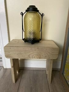 Small Wooden Stool, Display Stand, Children's, Kids Stool, Plant Stand