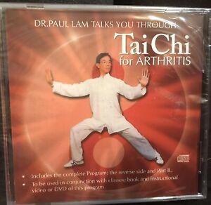 Dr Paul Lam Tai Chi For Arthritis CD Sealed
