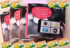 NEW! *Preactivated* AIRTEL INDIA sim card Indian - ready to use