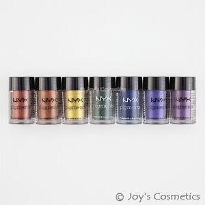 "7 NYX Pigments Eyeshadow Powder Vivid Set ""Rainbow Looks""  *Joy's cosmetics*"