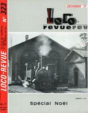 LOCO REVUE 323  DE 1971. LA 2D2 FULGUREX EN HO.....