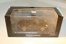 Minichamps 1:43 Porsche 911 Carrera 4S Cabrio near mint in box