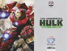 Immortal Hulk #18 Battle Lines Variant Cover STOCK PHOTO Marvel Presale 5/29/19