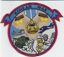 ** KOREAN WAR EMBROIDERED PATCH          (285bx)