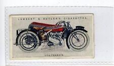 (Jd6115) LAMBERT & BUTLER,MOTOR CYCLES,LEA-FRANCIS,1923,#27