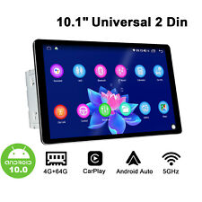 "JOYING Android 10.0 10"" HD Double Din Stereo Universal Head Unit 4+64GB 5G WiFi"