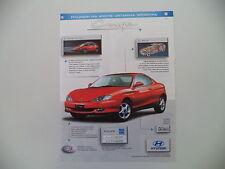 advertising Pubblicità 1998 HYUNDAI COUPE'