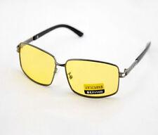 Fashion Polarized UV Sunglasses Night Vision Driving Glasses Yellow lens Cool