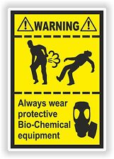 Farting Funny Sticker Bio-Chemical Equipment Heavy Fart Gases Truck Bumper WC