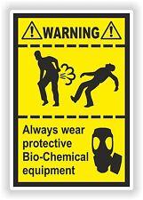 Autocollant Drôle farting bio-chemical équipements lourds pet gaz camion pare-chocs WC