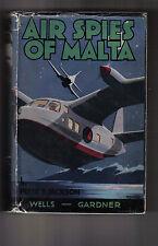 Peter Jackson.  Air Spies of Malta.  1/1, 1941.  H/B in original dustwrapper.