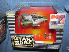 Star Wars Micro Machines Action Fleet A-WING STARFIGHTER, W/MothmaPilot~MIB-1996
