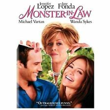 MONSTER-IN-LAW , MONSTER IN LAW JENNIFER LOPEZ JANE FONDA IN ORIGINAL CASE DVD