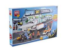 Block Tech Flughafen Sky Anschlussblock Stein Set 528 Stücke Kreativspielzeug
