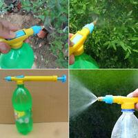 Manual High Pressure Water Spray Gun Garden Pump Bottle Trolley Mini Sprayer US