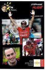 CYCLISME carte cycliste STEPHANE AUGE équipe COFIDIS 2009