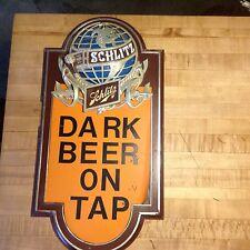Vintage Schlitz On Tap Dark Beer sign