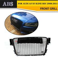 1PC RS Stil Vor Stoßstange Grill Kühlergrill Fit für Audi A5 S5 RS5 2008- 2011