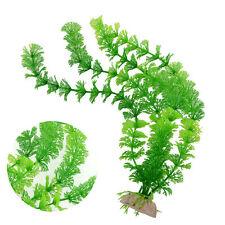 Ornament Artificial Green Plant Grass for Fish Tank Aquarium Decor Plastic