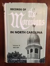 Records of the Moravians in North Carolina Volume 11, 1852-1879 Winston-Salem NC
