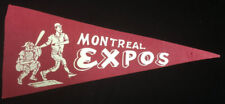 1969 Montreal Expos MLB Mini Pennant Vintage Baseball Pre Washington Nationals