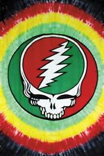 "Grateful Dead Tapestry ""Rasta SYF"" 60 x 90  - FREE PRIORITY MAIL"