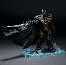 World of Warcraft WoW Arthas Menethil Lich King Deluxe Action Figure Statue
