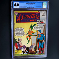 ADVENTURE COMICS #260 (DC 1959) 💥 CGC 4.0 💥 1ST SA ORIGIN OF AQUAMAN! SUPERMAN