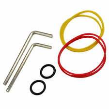 Tattoo Machine O-Ring Rubber Band Allen Keys Top Nipple Grommets Adjustment Kits