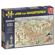 Jan van Haasteren - Neujahrsschwimmen - 2000 Teile Puzzle von Jumbo Spiele