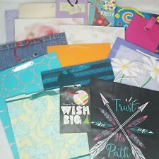 16 Gift Bags Assorted Size Style Graphics Variety Pack For Any Occasion