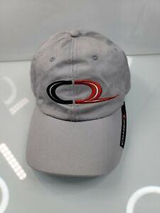 NASCAR Chance 2 C2 Motorsports Embroidered #8 Adjustable Strapback Gray Hat Cap