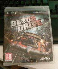 Blood Drive  (PS3) Playstation 3
