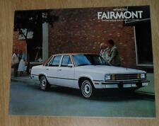 USA-FORD FAIRMONT BROCHURE 1979 2 4 porte Berlina Wagon