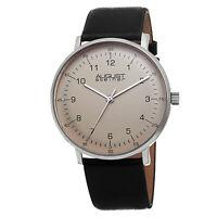 New Men's August Steiner AS8090SS Swiss Quartz Beige Dial Leather Strap Watch