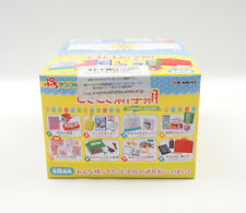 Re-ment School Goods Student Stationery Full Set 8 Complete