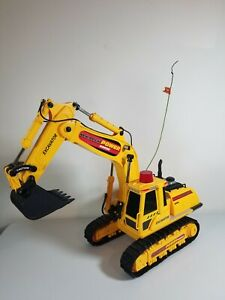 NEW BRIGHT POWER HORSE EXCAVATOR 1999 RC Toy Machine Construction FOR PARTS
