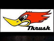 THRUSHGlasspack Mufflers - Original Vintage 1960's 70's Racing Decal/Sticker B