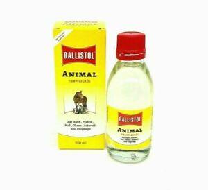 100 ml BALLISTOL Animal - Tierpflegeöl zur Haut-, Pfoten- Ohren- und Fellpflege