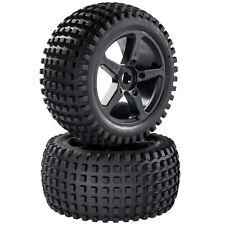 Truggy Neumáticos Set de llantas Calentador con 5-speichenfelge NEGRO 1:8 2