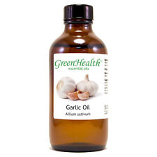 4 fl oz Garlic Essential Oil (100% Pure & Natural) - GreenHealth