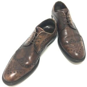 DOLCE&GABBANA Wing tip Men's Dress shoes Business shoes Leather Brown